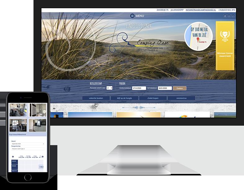 Prosuco portfolio - klant Strandcamping Oase